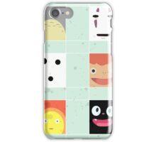 Studio Ghibli - Minimalist Design iPhone Case/Skin