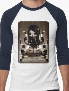 Halloween Doll Men's Baseball ¾ T-Shirt