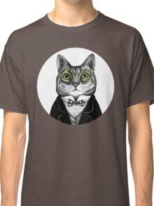 gentleman cat Classic T-Shirt