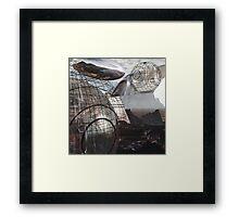 Alien Landscape #3 Framed Print