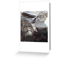 Alien Landscape #3 Greeting Card