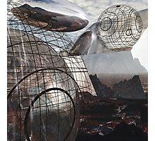 Alien Landscape #3 Photographic Print