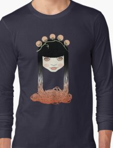 Spaghetti girl Long Sleeve T-Shirt