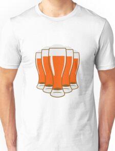 Beer drinking beer glass Unisex T-Shirt