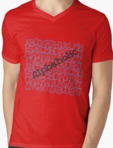Alphaholic Mens V-Neck T-Shirt
