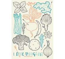 I love vegetables! Photographic Print