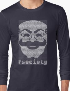 mr._robot_-_fsociety_2.dat Long Sleeve T-Shirt