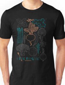 I love vegetables! Unisex T-Shirt