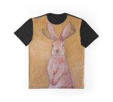 Jackalope Handpainted   Graphic T-Shirt