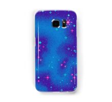 Indigo Nebula (8bit) Samsung Galaxy Case/Skin