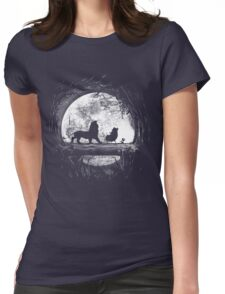 Moonlight Womens Fitted T-Shirt
