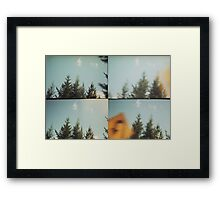 drive-by Framed Print