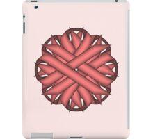 Pink Flower Ribbon iPad Case/Skin