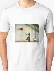 Banksy's Girl with a Red Balloon T-Shirt