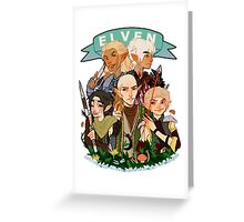 Dragon Age Elves Greeting Card