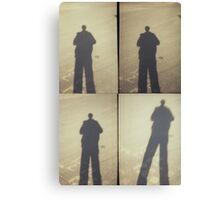 shadow portrait Canvas Print