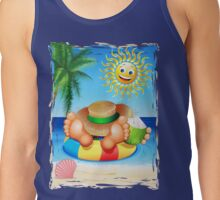 Summer Relax on the Sea Tank Top