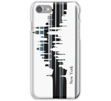 New York lines iPhone Case/Skin