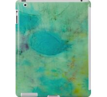 Colorful Abstract Print Design in Green  iPad Case/Skin