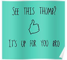 Thumbs Up! Poster