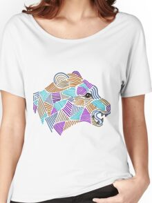 Bear pattern Women's Relaxed Fit T-Shirt
