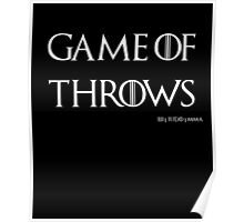 Game of Throws (BJJ, MMA, Judo) Poster