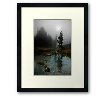Kings Creek. Framed Print