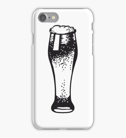 Beer Beer Glass pils iPhone Case/Skin