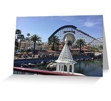 Paradise Pier Shot Greeting Card