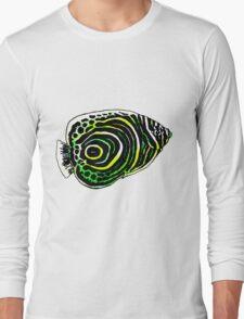 Emperor angel fish Long Sleeve T-Shirt