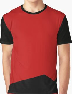 Space Uniform Red Graphic T-Shirt