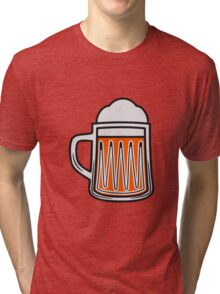 Beer tankard beer glass Tri-blend T-Shirt
