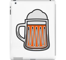 Beer tankard beer glass iPad Case/Skin