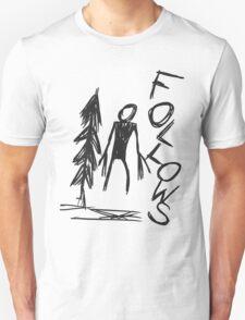 Follows - Slender Page nº 1 Unisex T-Shirt