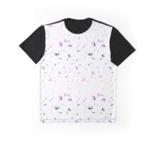 Dandelion Seeds Genderfluid Pride (white background) Graphic T-Shirt