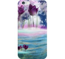 Tulips in water iPhone Case/Skin