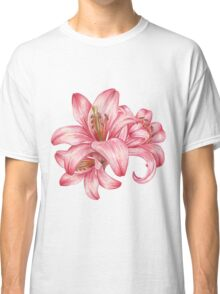 lily flowers_3 Classic T-Shirt