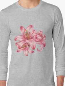 lily flowers_3 Long Sleeve T-Shirt