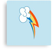 Rainbow Dash Cutie Mark Canvas Print