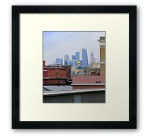 Modern City Framed Print