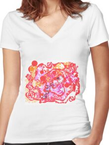 Potential Well Women's Fitted V-Neck T-Shirt