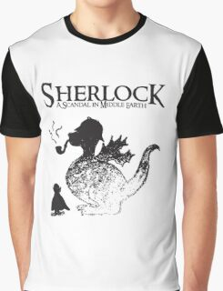 Sherlock: A Scandal in Middle-earth Graphic T-Shirt