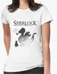 Sherlock: A Scandal in Middle-earth Womens Fitted T-Shirt