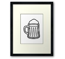 Beer tankard beer glass Framed Print