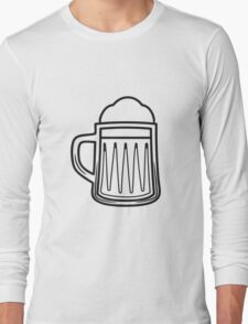 Beer tankard beer glass Long Sleeve T-Shirt