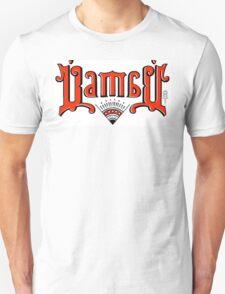 "Ambigram Parody ""Bambu"" (Mirror Image Ambigram) Unisex T-Shirt"