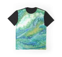 Dolphin Waves 2 Graphic T-Shirt