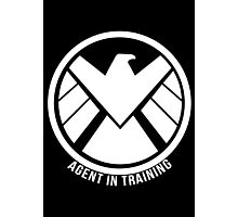 Agent In Training (White) Photographic Print