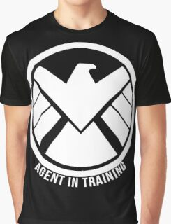 Agent In Training (White) Graphic T-Shirt