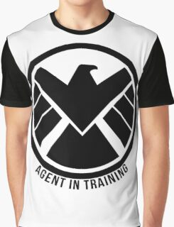 Agent In Training (Black) Graphic T-Shirt
